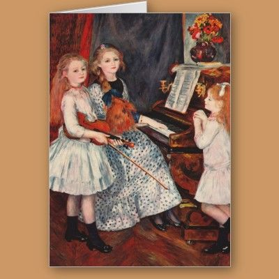 The Musical Family Greeting Card