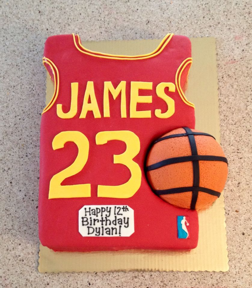 Lebron James Cake Happy 12th Birthday 12th Birthday 30