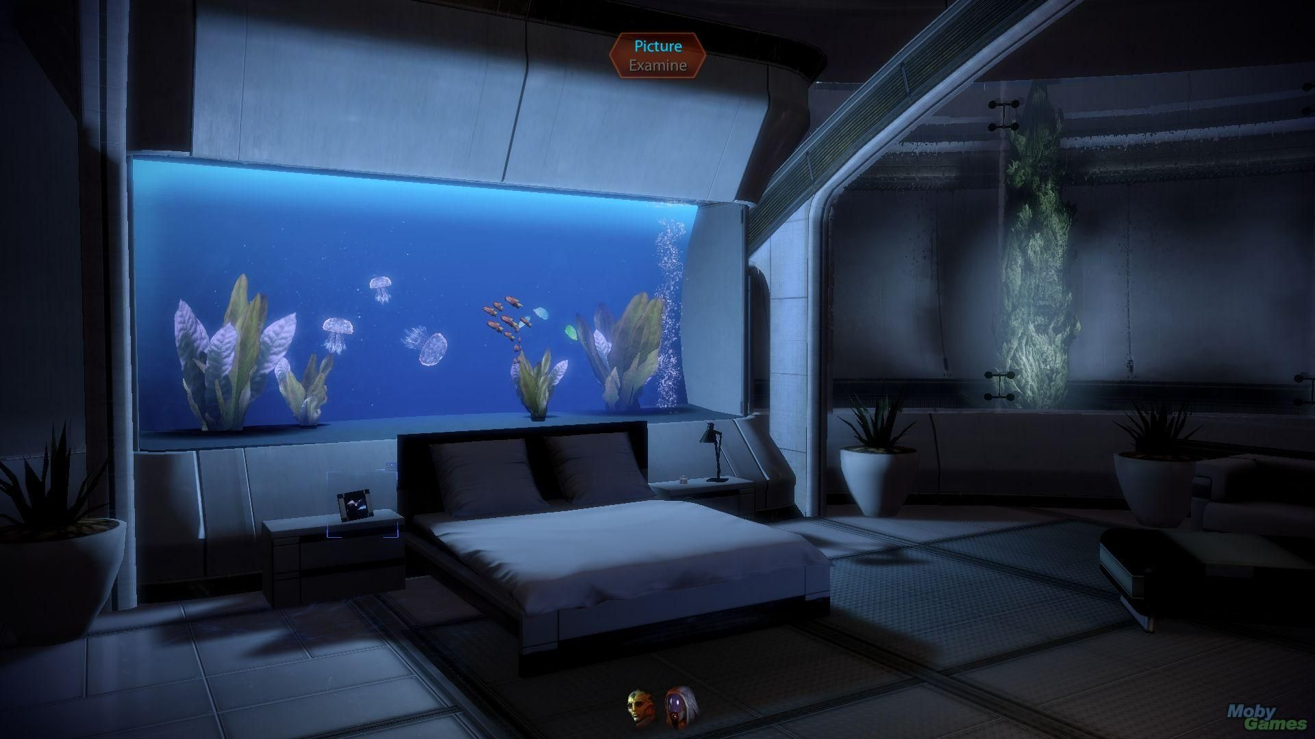 Mass Effect Bedroom Mass Effect 2 Lair Of The Shadow