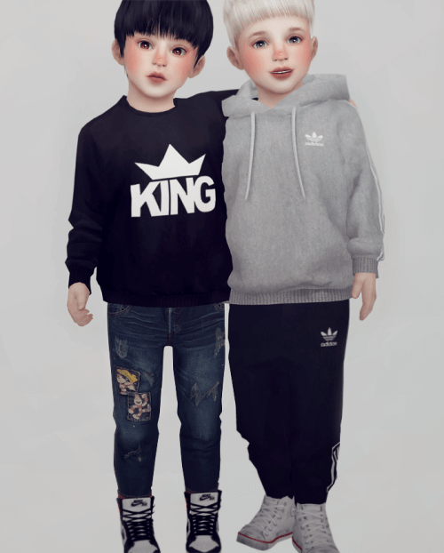 Toddler Lookbook Sims