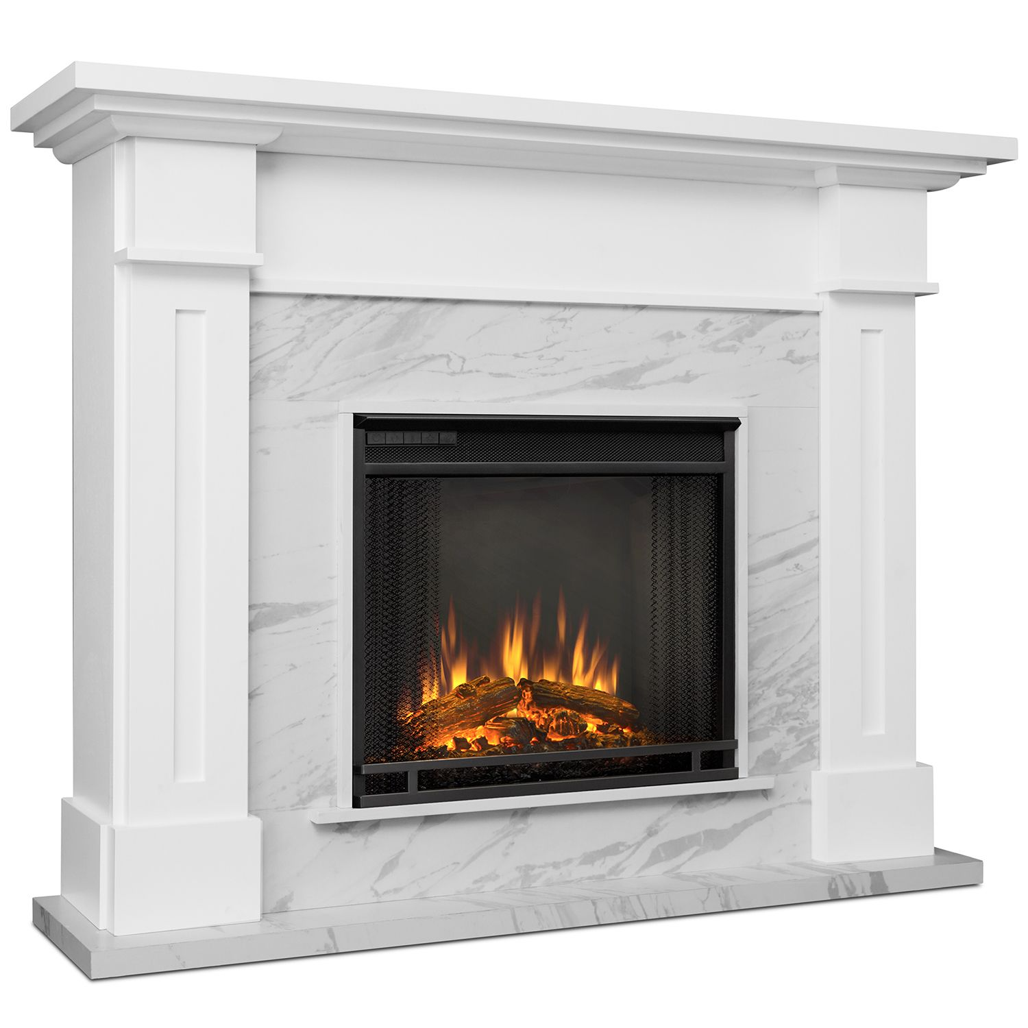 Marble Electric Fireplace Indoor Electric Fireplace