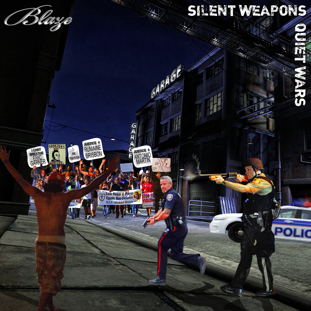 """BLAZE - SILENT WEAPONS QUIET WARS Download Blaze's latest mixtape SWQW. Featuring singles """"Didn't Know"""" and """"Friends"""". Download the SWQW for FREE @ www.thugrelated.com/mixtapes.html"""