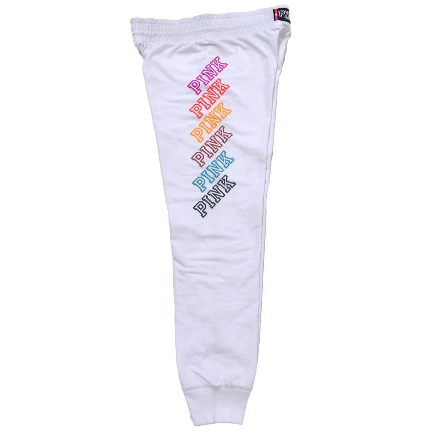 Victoria s Secret Pink Gym Pants Lounge Pant Sweatpant Sweats Drawstring  New Nwt Pink Gym Pants 180585011