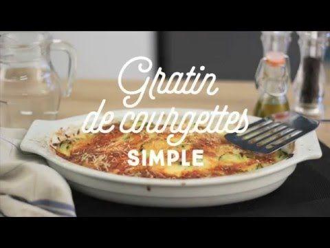 Gratin De Courgettes Simple Facile Rapide Une Recette Cuisineaz