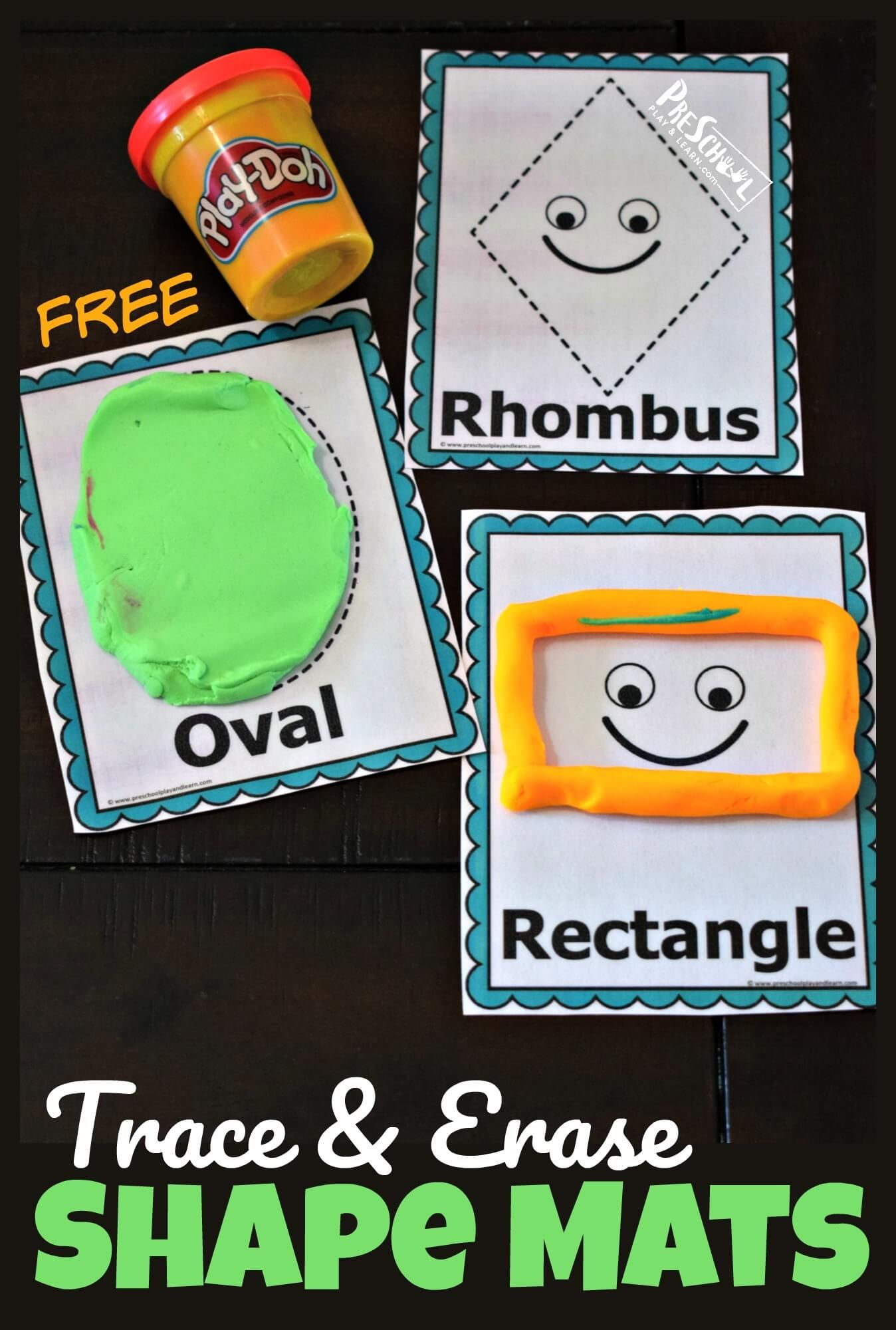 Free Trace And Erase Learning Shapes Mats