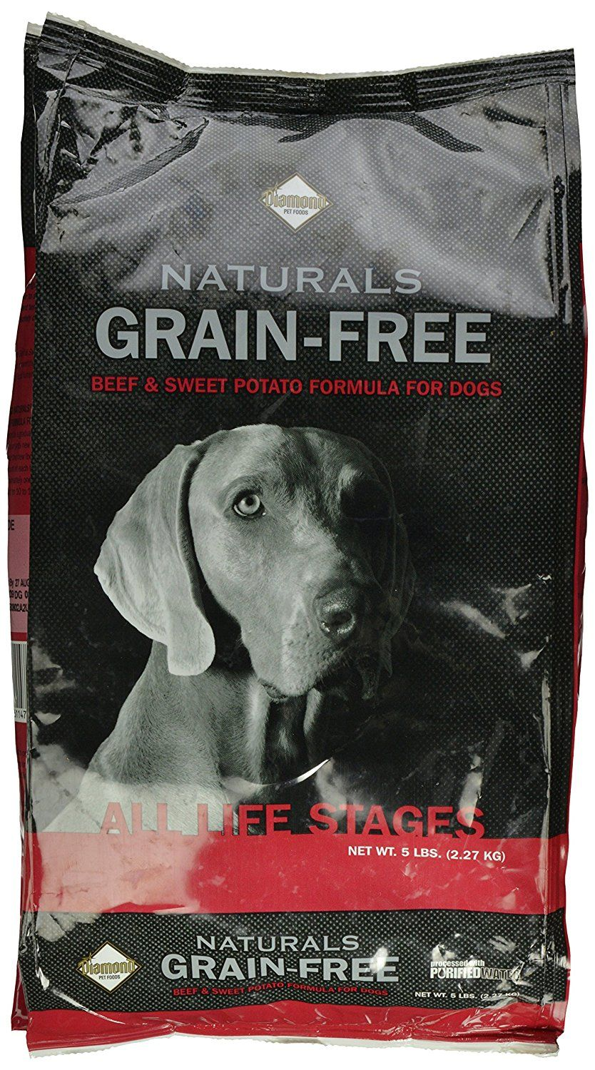 Diamond naturals grain free beef and sweet potato for dogs