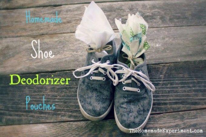 Homemade Shoe Deodorizer Sachets Deodorize Shoes