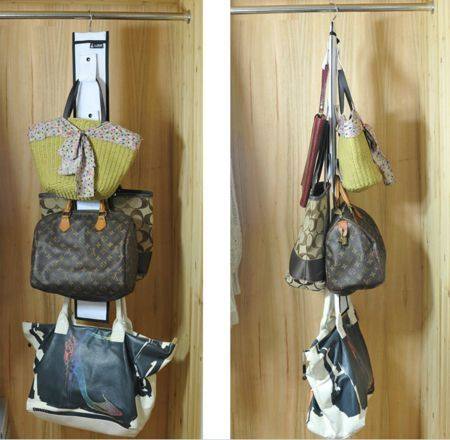 Charmant Hanging Purse Storage Closet Organizer, Plus Lots Of Other Pocketbook  Storage Ideas {featured On #HomeStorageSolutions101}