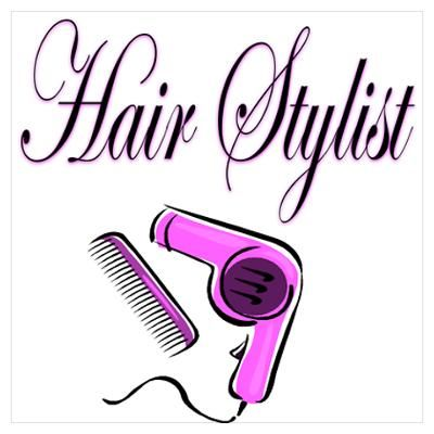 hair stylist posters cartoon hairdresser hairdressers stylists poster salon beauty care wall cafepress funny diva michigan tips joan independent haircuts