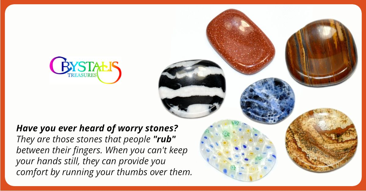 Have You Ever Heard Of Worry Stones They Are Those Stones That People Rub Between Their Fingers When You Ca Crystal Shops Near Me Crystal Shop Worry Stones