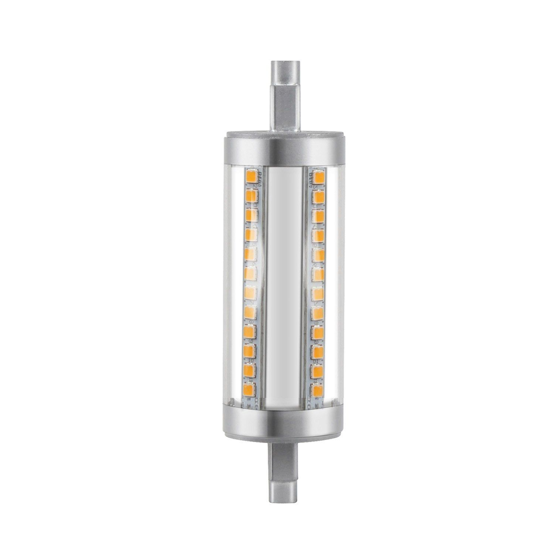 Ampoule Led Dimmable Crayon R7s 118mm 9 5w 1055lm Equiv 75w 3000k Lexman Ampoule Led Ampoule