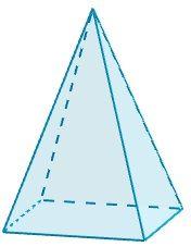 Piramide Cuadrangular Cuadrangular Piramide Geometria
