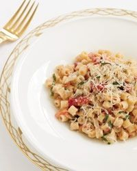Orecchiette with goats cheese and parmesan recipe Food and Wine