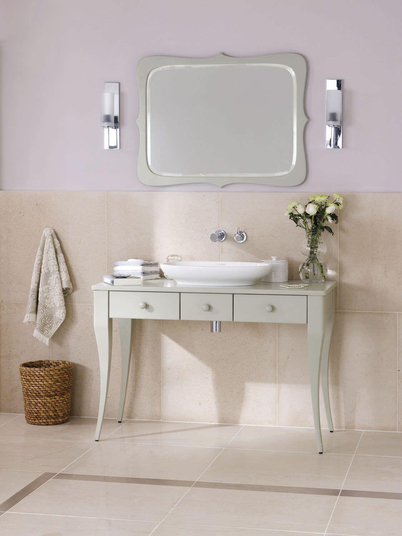 Mueble de lavabo cl sico de madera de pie con cajones bosa 112 victoria albert - Muebles de bano para lavabo con pie ...