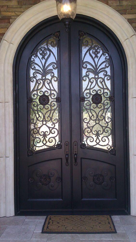 Herreria Moderna Puertas Principales Forja Modelos De Puertas Puertas De Metal Puertas De Fierro