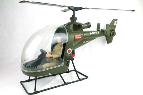 Action Man Helicopter Being A Kid Was Fun 70s Toys