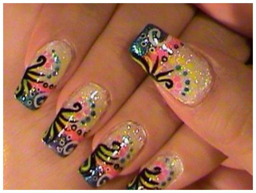 best acrylic nail art fashion designs - Hot Designs Nail Art Ideas