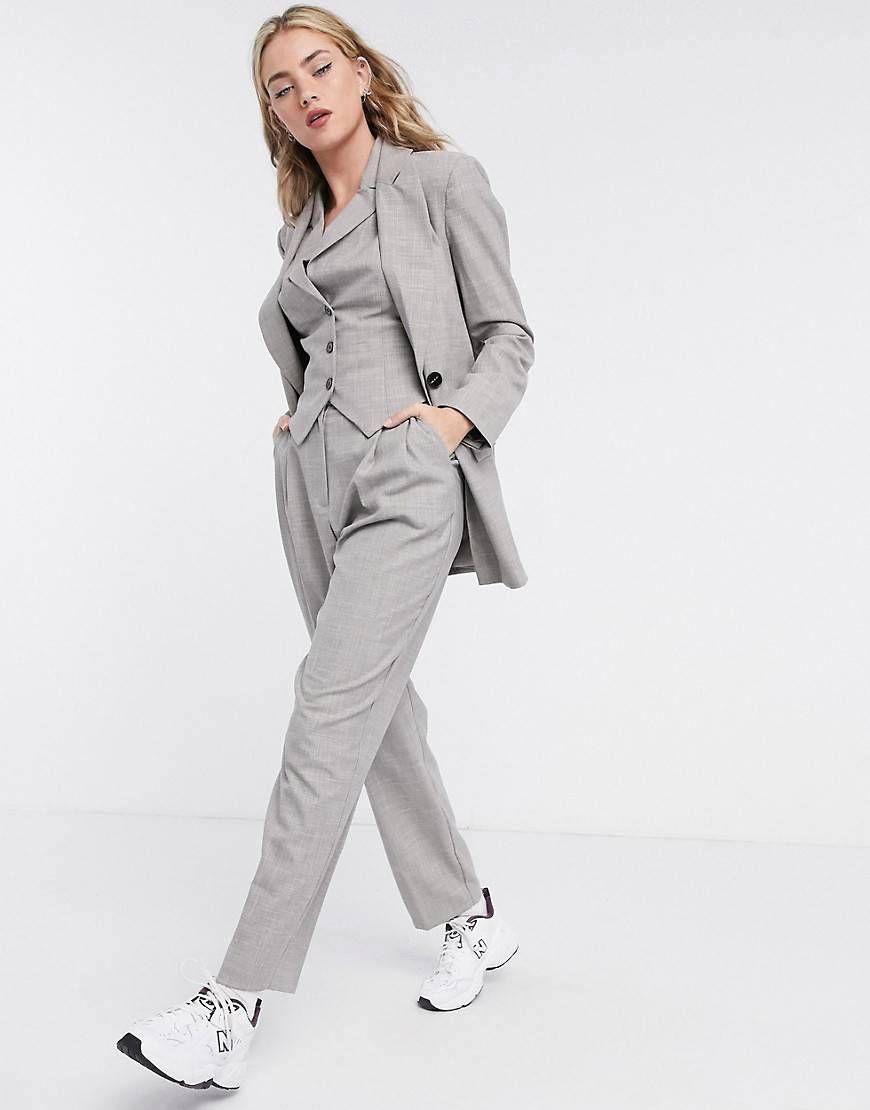 Waist Pant Three Piece Suit Ladies