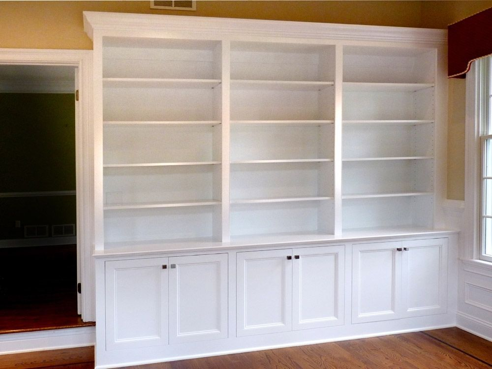 Custom Made Home Office BuiltIn Bookcases by Stuart Home