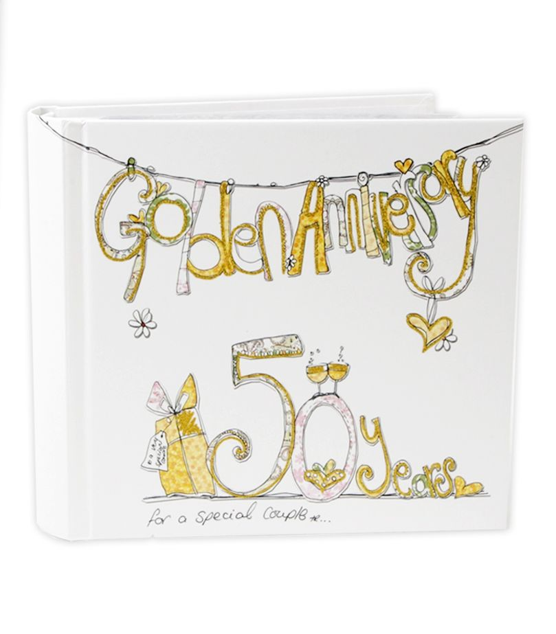 Golden Wedding Anniversary Gift Ideas: Photo Album Anniversary Gift