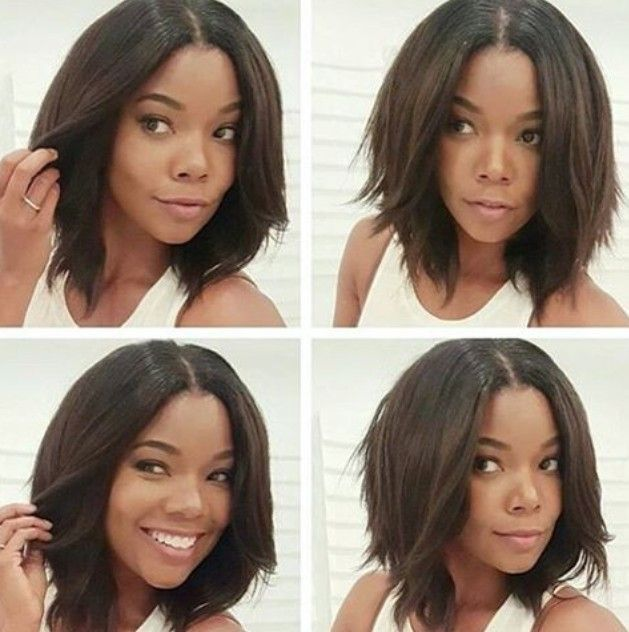 The Bob Haircut Is A Great Hairstyle For Most Women But Black Women Always Feel Left Out Beca Choppy Bob Hairstyles Trendy Bob Hairstyles Short Bob Hairstyles