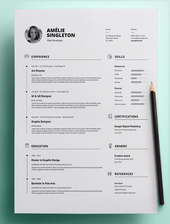 Professional Resume Template Resume Template Professional Resume Template Professional Resume
