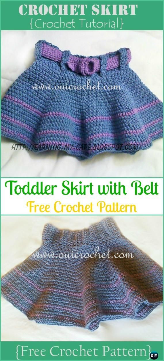Crochet Toddler Skirt Free Pattern Crochet Girls Skirt Free