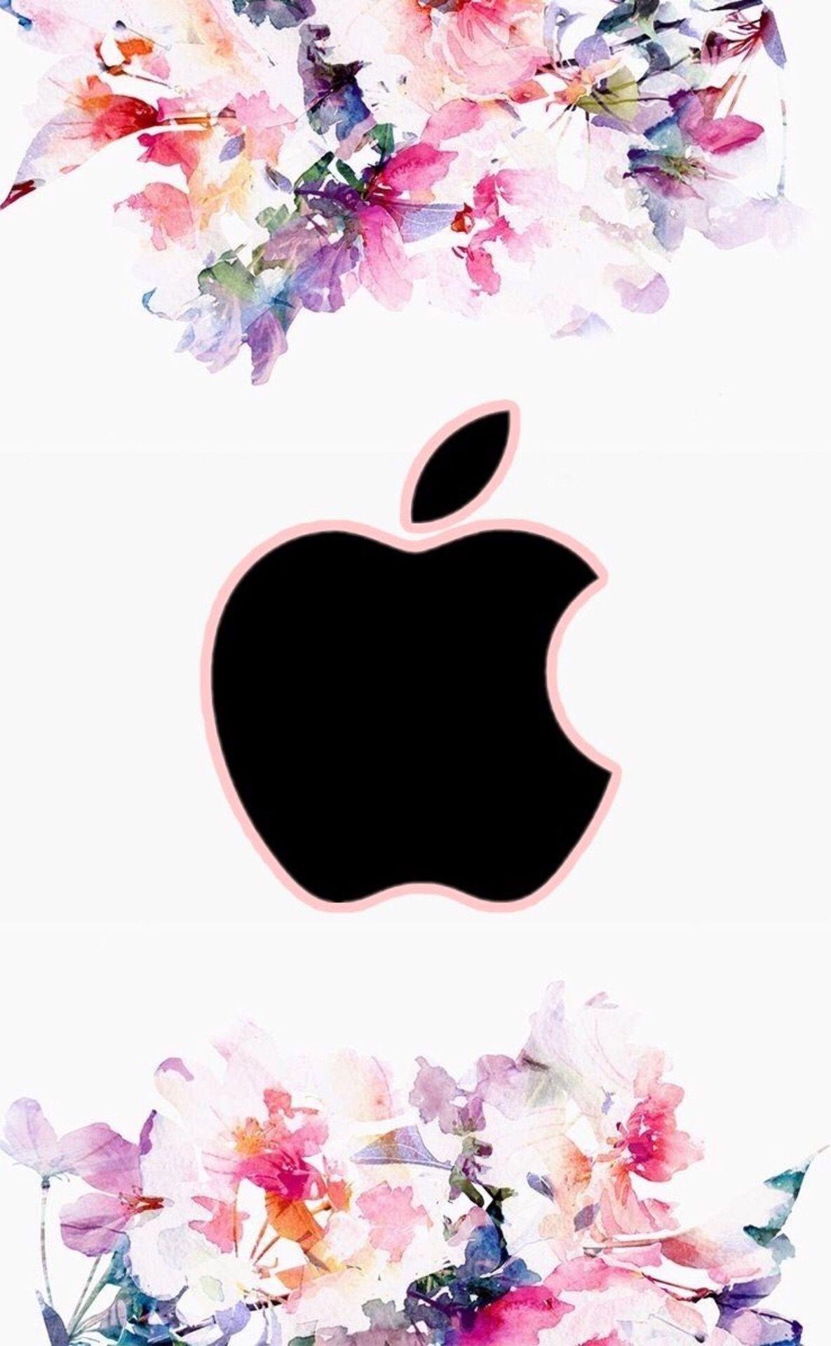 Pin by Dina Hamlett on Wallpapers Apple logo wallpaper