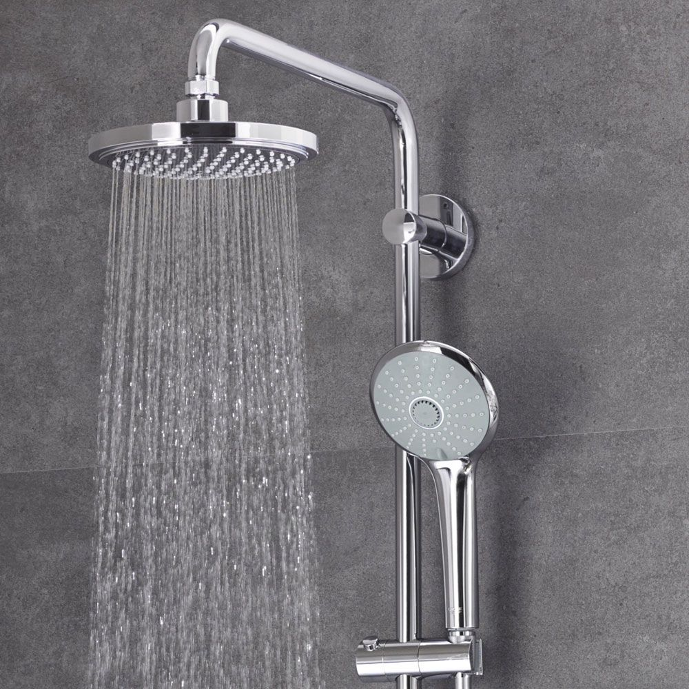Grohe Duschsystem Euphoria Grohe Euphoria 180 Thermostatic Shower System 27296001 Feature