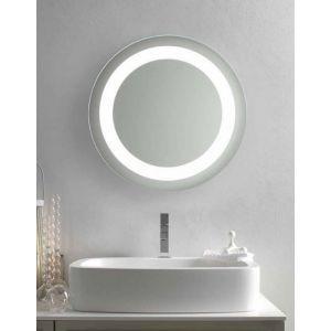 specchio e specchiera bagno retroilluminato led bluetooth orion ... - Sospesi Vanita Nero