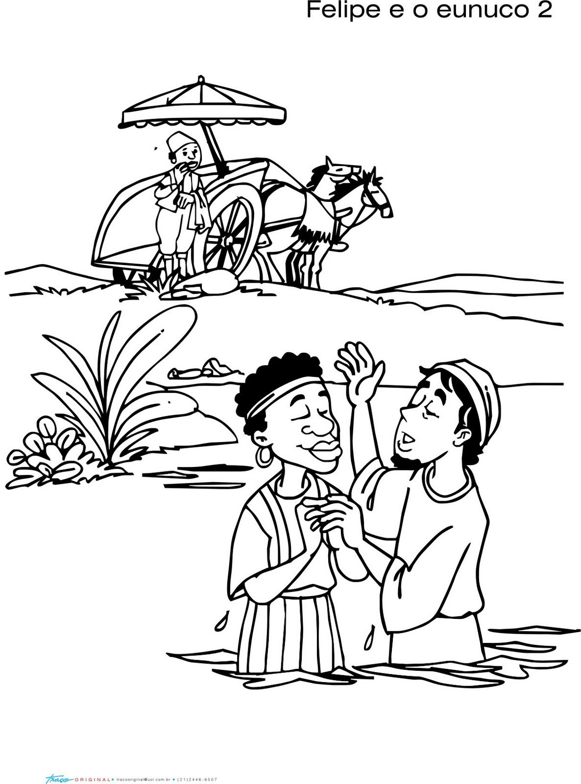 Philip From The Bible Coloring Page Coloring Pages   Kids   Pinterest