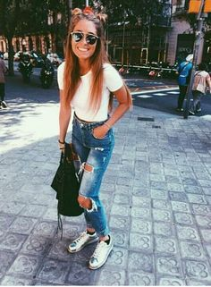 Image result for bralette jeans summer outfit tumblr