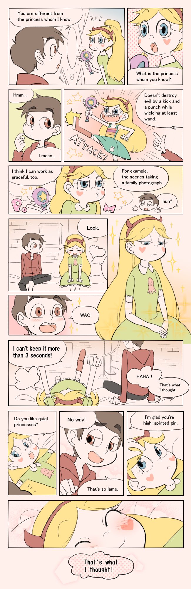 They\'re bestie! by 48sensei | A star and marco story | Pinterest ...