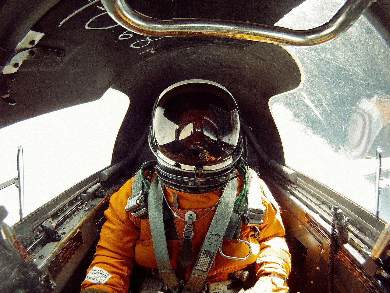 As I slipped open the sunshade of my spacesuit, I could see that the sky above was black. The curved white and blue Earth fell away below the horizon. Sailing like Icarus past 70,000 feet, I was now the 11th highest human on Earth. Soaring in a U-2 at the edge of space, this moment was one of the highlights of my life.