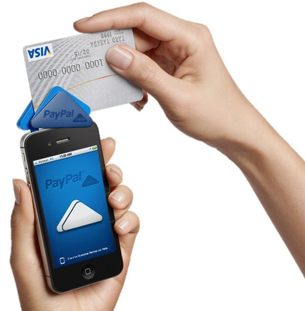 paypal here mobile payment system | Genius ideas