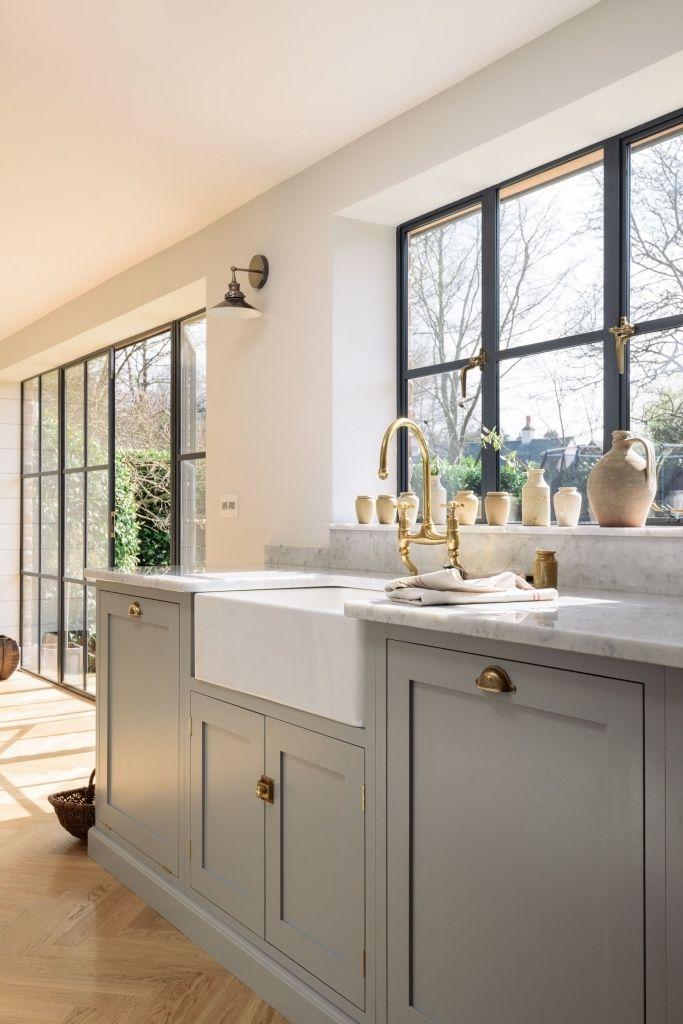 Grey Kitchen set furniture Kitchen Interior design #greykitcheninterior