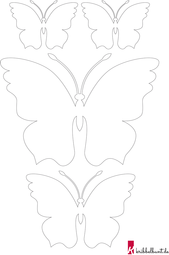 Schmetterling Basteln 2 Schmetterling Vorlage Bastelvorlagen Schmetterlinge Basteln