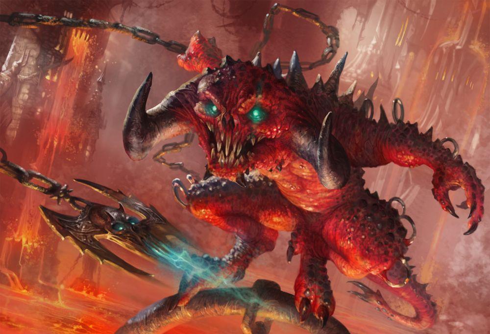 Pin De Trelo Leipsano Em Mtg Art Monstros Demonios Magic The Gathering