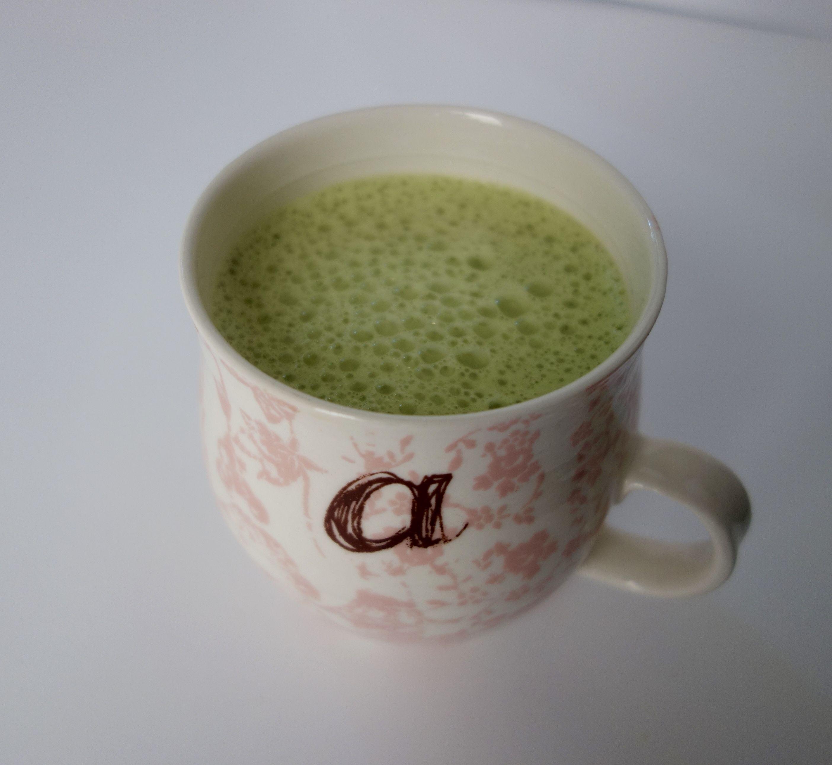 MATCHA GREEN TEA LATTE AT HOME
