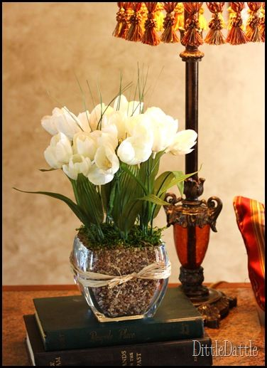 Dollar Tree Floral Arrangement Pinterest Ideas I Ve