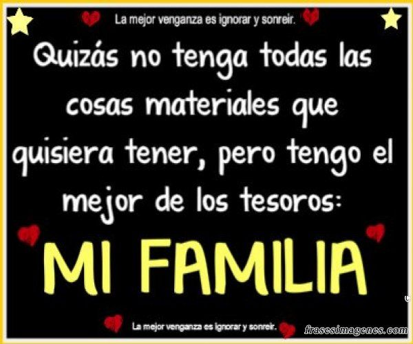 Frases De Familia: Frases Para La Familia Mi Familia Es Lo Mas Importante