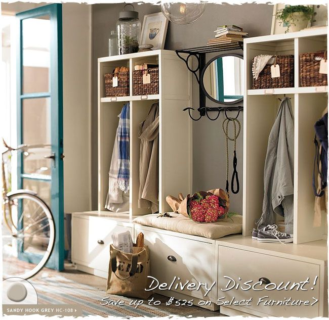 Welcome Home Pottery Barn Paint Home Decor Mudroom