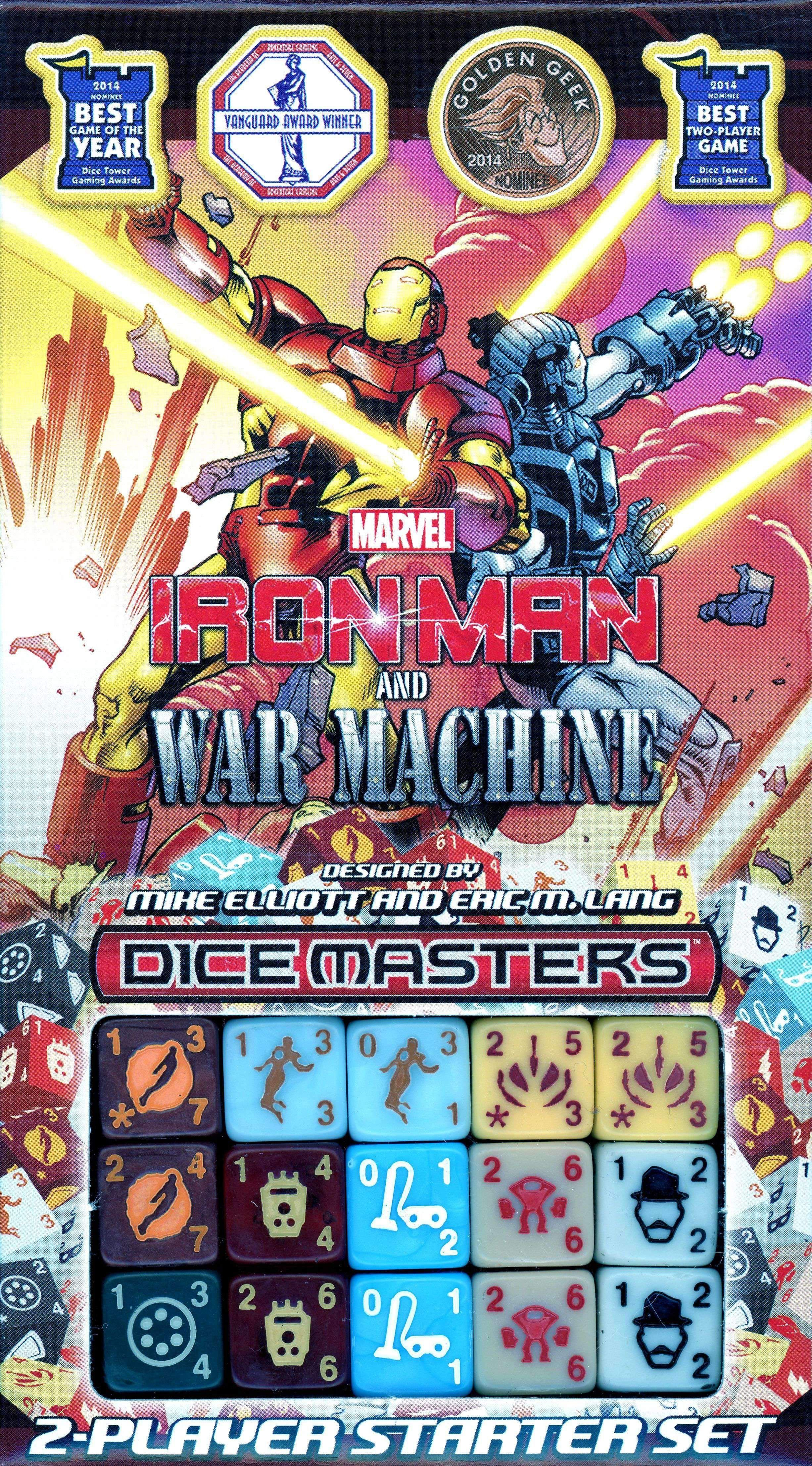Marvel Dice Masters Ironman and War Machine Starter Set