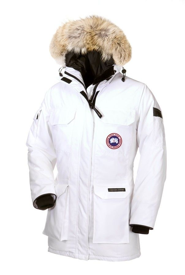 Canada Goose Expedition Parka Bianco