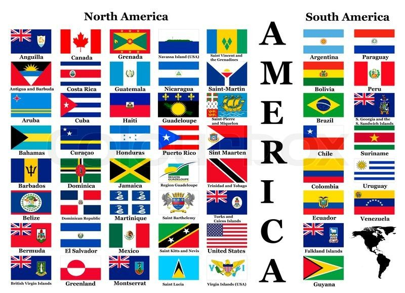 Related Image North America Flag South America Flag World Country Flags
