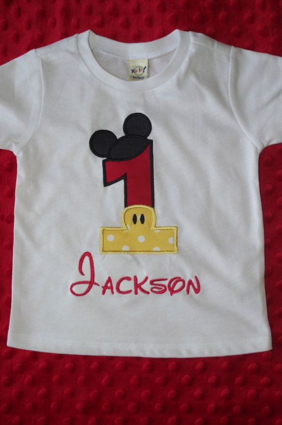 7d477dad Mickey Mouse Birthday Shirt | 3rd birthday | Mickey mouse birthday ...