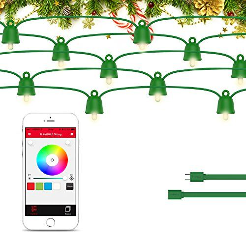 PLAYBULB Extension Pack String Lights Water Resistant Color Changing