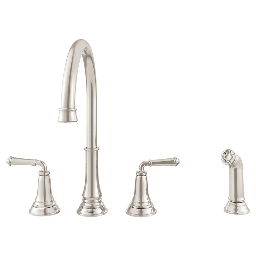 American Standard Delancey 2 Handle Standard Kitchen Faucet with