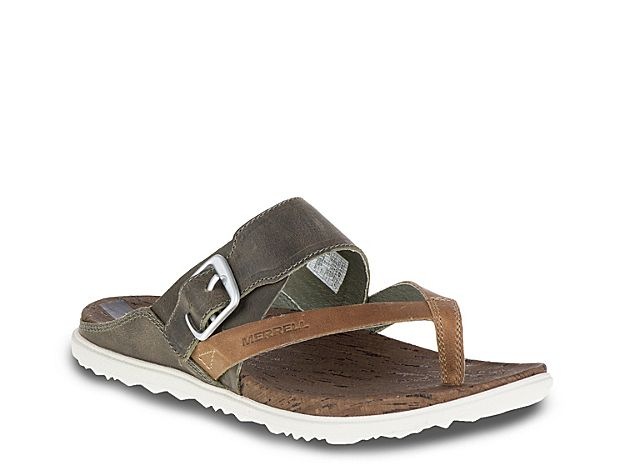 3a6a109eab4a1 Around Sandal In Brown Thong 2019 Town Women Products Flat Rwqvffa