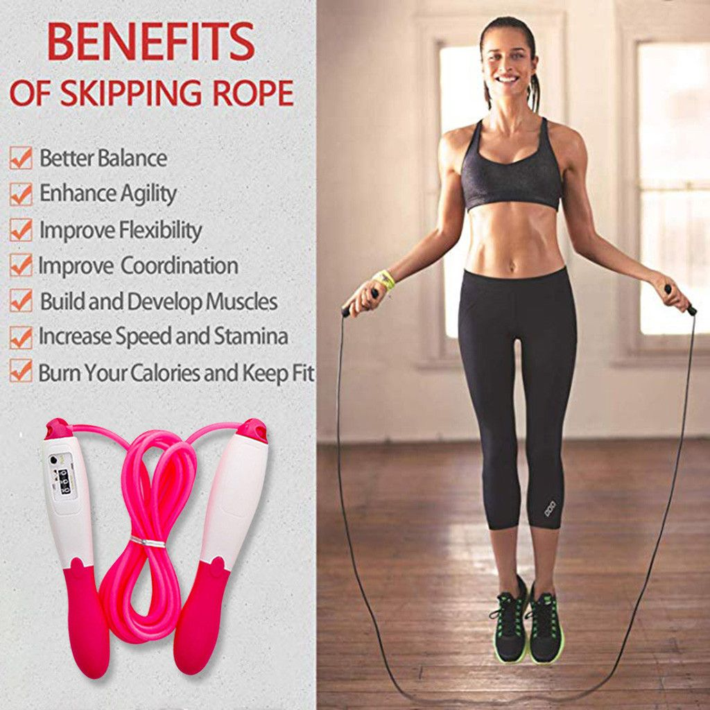 Fitness Skipping Rope Jumping Fat Loss Fitness Kids Workout